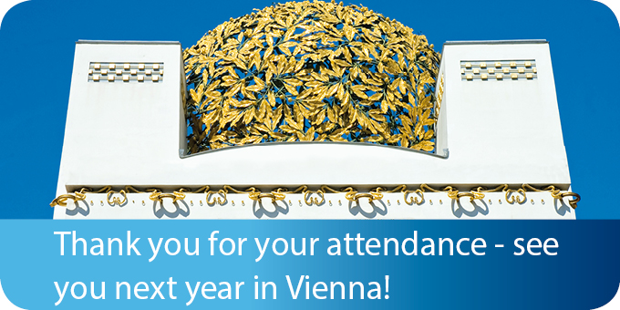 See you next year in Vienna