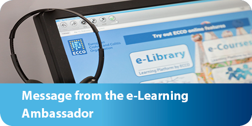 Message from the e-Learning Ambassador