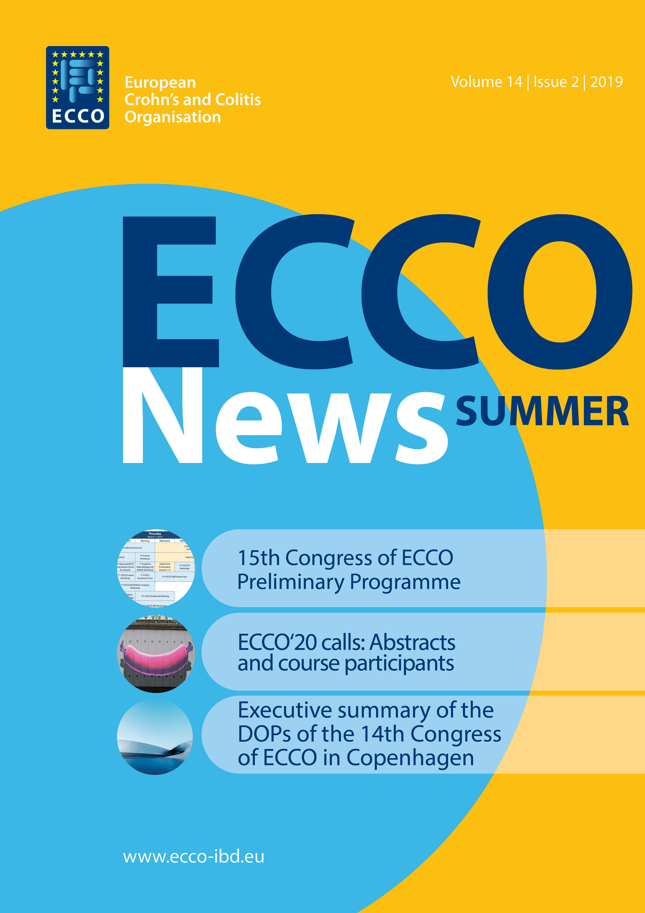 2019 ECCO News 2019 big Cover